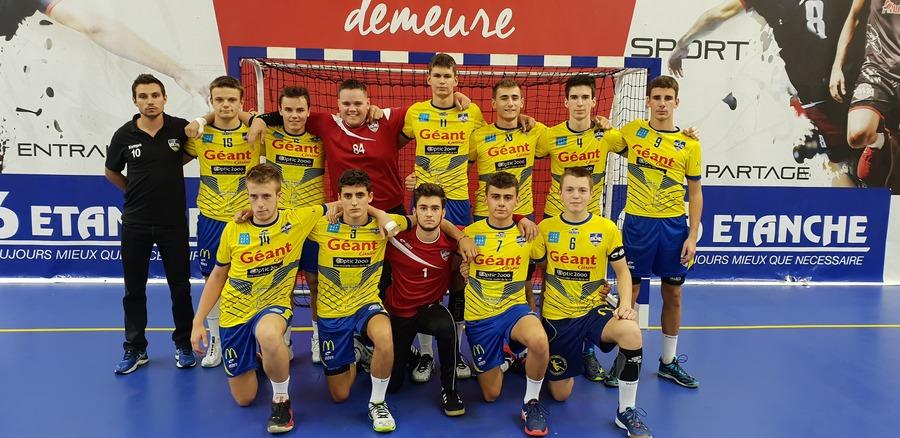 Équipe -18 CF Garçons