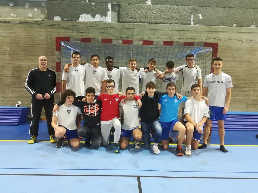 Équipe -18-3 garçons