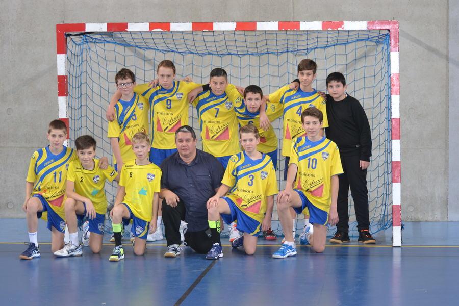 Équipe -15-3 Territoire Garçons