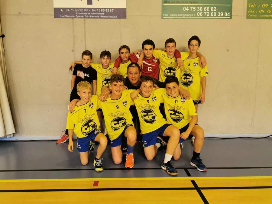 Équipe -15-1 Territoire Garçons