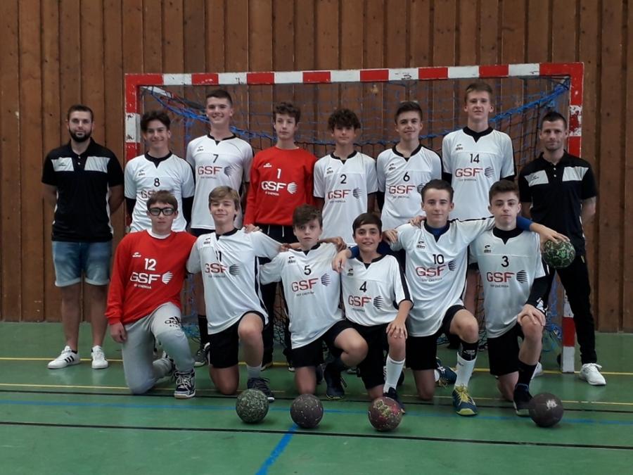 Équipe -15 AURA Garçons
